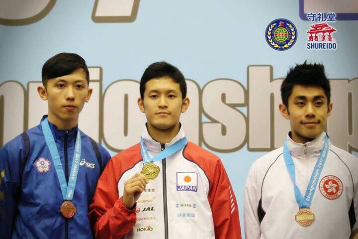 船橋真道選手東アジア大会金メダル